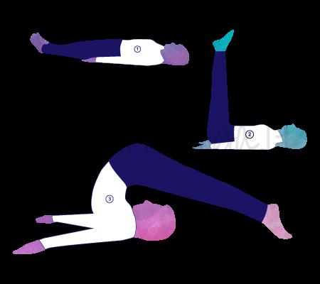 Posizione Yoga Halasana - Posizione dell'aratro