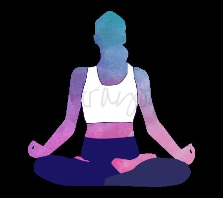 Posizione Yoga Sukha Pranayama