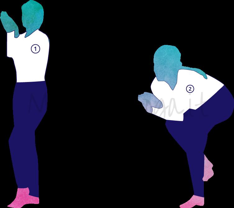 Garudasana (la posizione dell'aquila)