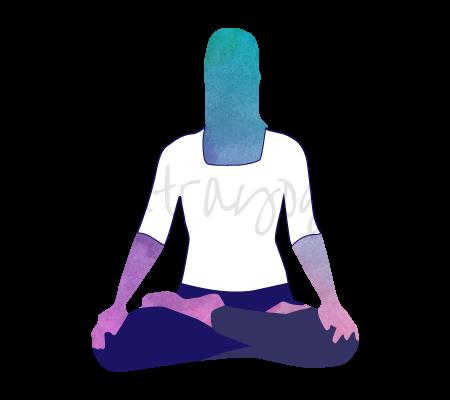 Padmasana (la posizione del loto)